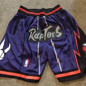 new concept 15dce a0b18 TORONTO RAPTORS JUST DON SHORTS